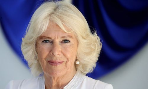 Duchess Camilla wears poignant love heart accessory as she discusses sad loss of her mother