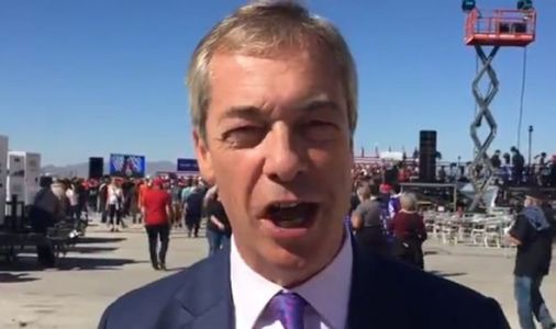 Nigel Farage places eye-watering bet on Donald Trump to win US election 2020