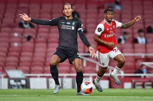 Liverpool star Virgil van Dijk speaks out on his rare mistake which led to Alexandre Lacazette's equaliser at Arsenal
