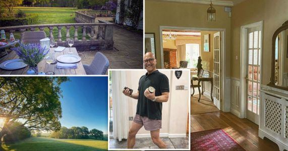 Inside MasterChef star Gregg Wallace's £1million countryside family home in Kent where he is self-isolating