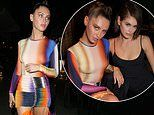 Iris Law poses up a storm with supermodel pal Kaia Gerber at LOVE magazine's LFW party