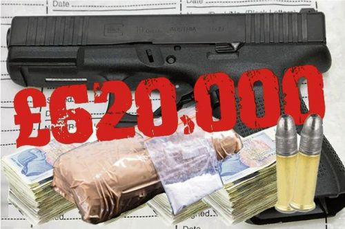 Scots gangsters targeted by new crime-busting police unit lose £620k in dirty money
