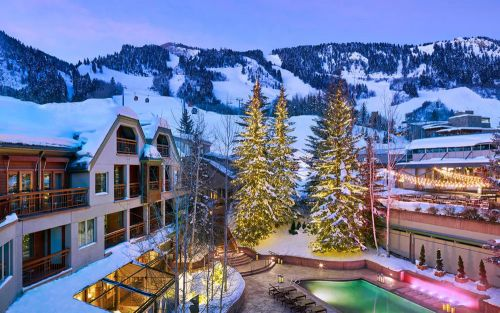 The best accommodation in Aspen, including luxury lodges and ski hotels