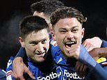 Brentford 0-1 Nottm Forest: Joe Lolley's deflected strike sinks play-off rivals