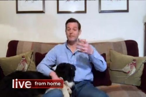 Emotional Matt Baker swigs G&T as he says goodbye to The One Show after 10 years