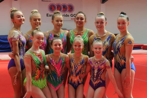 East Kilbride gymnastics joy as petition helps youngsters return