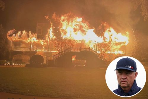 Ex-Ryder Cup captain Davis Love III's mansion totally destroyed in enormous fire