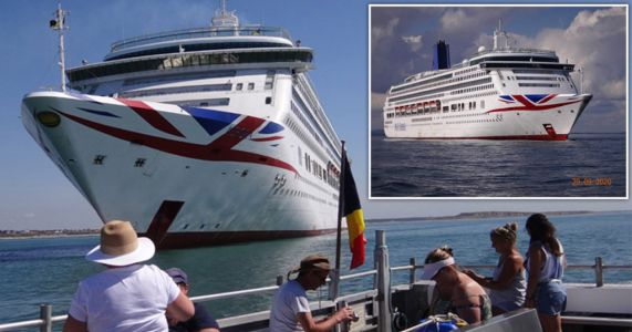 Skeleton crews on 'ghost' cruise ships face Christmas at sea