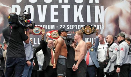 Joshua vs Povetkin LIVE stream: How to watch the boxing online and on TV