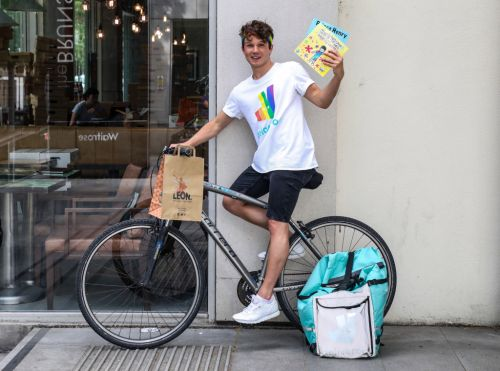 Deliveroo drops off LGBT+ children's books with food orders during Pride