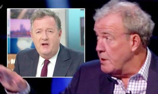 Jeremy Clarkson takes savage swipe at Piers Morgan: 'Looked like he wet himself'