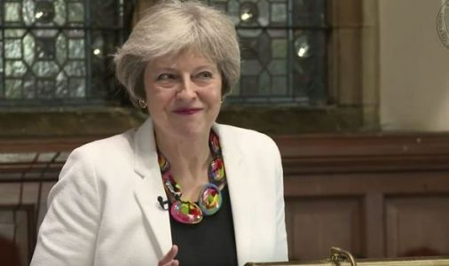 Theresa May's raunchy sex joke causes Oxford Union to erupt with laughter - VIDEO