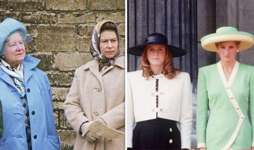 How Queen Mother consoled Queen about Diana and Fergie divide exposed
