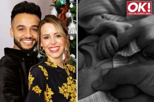 Aston Merrygold's fiancée Sarah Richards gives birth to couple's second child