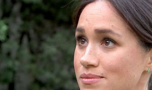 Meghan Markle fights back tears as she describes struggles as new mum in media spotlight