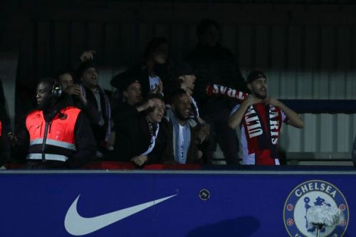 Police recover knives and knuckle dusters from PSG fans at Chelsea women's clash