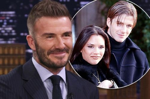 David Beckham recalls asking for Victoria's number 'after she'd had a few drinks'
