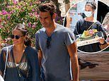 Alicia Vikander enjoys lunch with pal Jon Kortajarena during Ibiza getaway