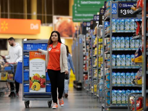 Walmart will screen the temperatures of its 1.5 million US employees and provide them with masks and gloves