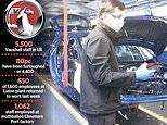 Vauxhall boss warns production will be down for months