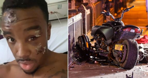 Bugzy Malone 'lucky to be alive' as he shares horrific injuries from quadbike accident