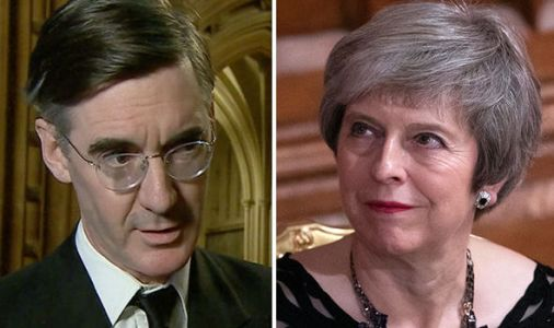 'White flags over Whitehall!' Rees-Mogg launches scathing attack on agreed Brexit deal