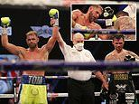 Billy Joe Saunders keeps WBO super-middleweight title with points decision win over Martin Murray