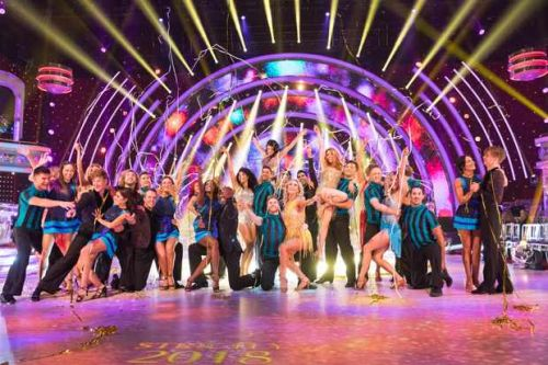Exclusive behind the scenes video interviews with the Strictly 2018 stars and their partners