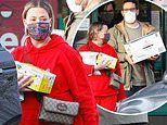 Ant McPartlin's ex Lisa Armstrong stocks up on wine with new boyfriend during rare outing
