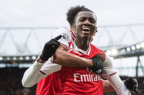 Eddie Nketiah bags hat-trick as Arsenal thrash Charlton ahead of Premier League restart