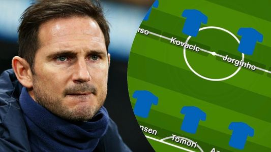 Predicted XI: Tomori returns and Mason Mount plays out wide as Lampard sticks with 3 man defence