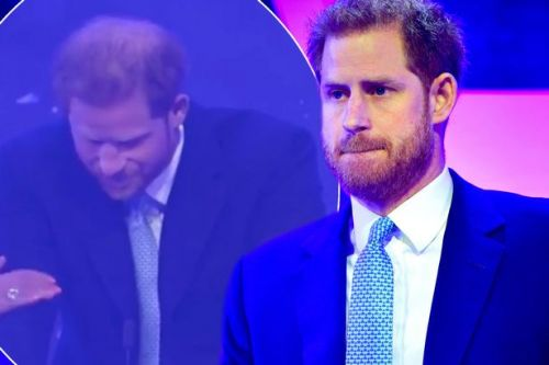 Prince Harry chokes up as he discusses becoming a father in emotional speech at WellChild awards