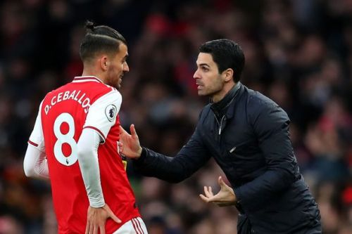 Ian Wright suggests Mikel Arteta is playing Dani Ceballos in wrong position