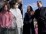 President Joe Biden's daughter and granddaughters attend the inauguration
