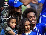 Willian reveals family don't want to leave London despite having six months left on his Chelsea deal