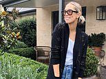 Phoebe Burgess continues to show off chic self-isolation wardrobe