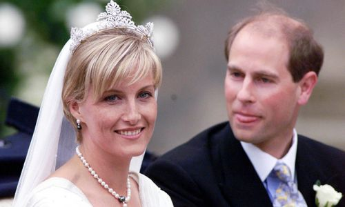 The Countess of Wessex's wedding jewellery is seriously inspiring us right now