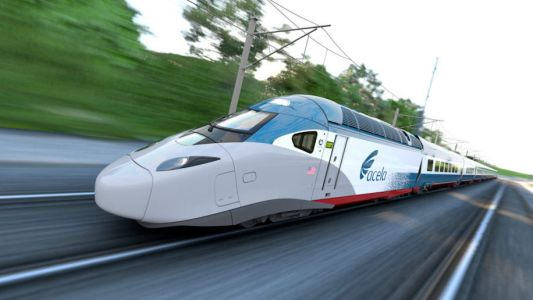 Amtrak begins high-speed tests of new Acela trains