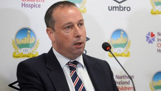 Irish FA standing firm on refusal to give Uefa money to clubs