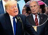 Donald Trump lashes out at 'mini' Mike Bloomberg's saturation TV ad campaign