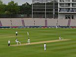 England and West Indies players take a knee as Test cricket returns - video