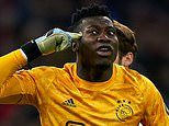 Barcelona 'join Chelsea in race to sign Ajax's Andre Onana' after keeper REJECTED Barca last summer