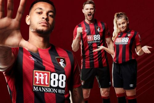 Bournemouth kit 2019/20: First pictures of new Bournemouth shirt -home kit unveiled