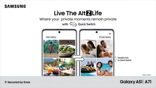 Samsung AltZLife private mode announced for Galaxy A71 and A51 users