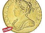 Gold coins at online-only Spink auction sell for up to £65,000
