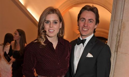 Princess Beatrice and Edoardo Mapelli Mozzi look so in love in never-before-seen royal wedding photo