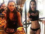 MAFS star Elizabeth Sobinoff loads up on pizza after showing off her slimmed down frame