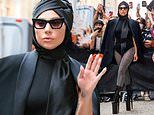 Lady Gaga dons turban scarf with leotard and THOSE 9in heels in NYC 6 days before Tony Bennett show