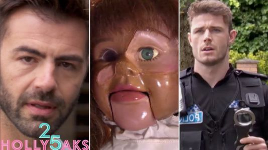 Hollyoaks spoilers: Sylver McQueen arrested for Breda's murder as the doll records his confession