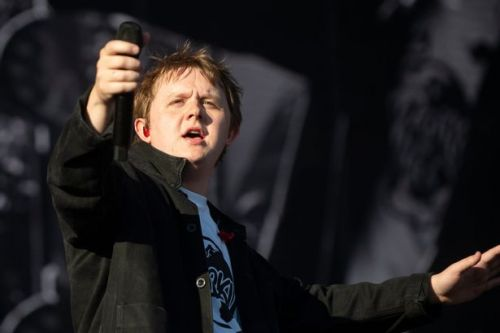 Lewis Capaldi has fans in stitches as he goes for a pee half way through gig - and takes his mic